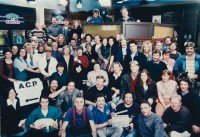 Allan Zavod (Music Composer for Episodes) with the entire cast of 'A Country Practice' - 1994 - click to see an enlarged version of this image