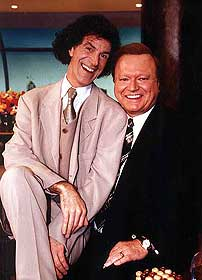 Allan Zavod with Bert Newton on Melbourne Tonight - hosted by Graham Kennedy