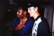 Allan Zavod with George Benson in Hawaii