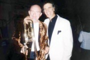 James Morrison and Allan Zavod in Munich at Trumpet Concerto performance