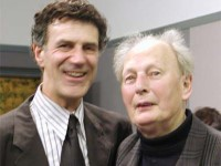 Dr. Allan Zavod with Prof. John Hopkins - click to see an enlarged version of this image