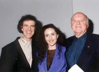 Allan Zavod with Singer Marina Prior and George Fairfax