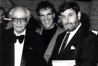 French Composer Olivier Messiaen, Allan Zavod & Barry Jones - click to see an enlarged version of this image
