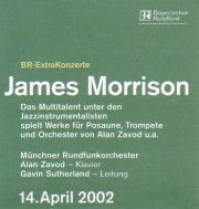 Concert hall Munich Germany - James Morrison Quartet - click to see an enlarged version of this image