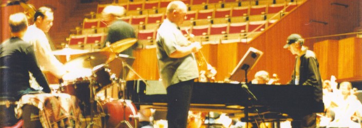 James Morrison and Allan Zavod in Munich at Trumpet Concerto 2002