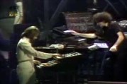 Allan Zavod and Jean Luc Ponty Live Mirage Performance - click to see an enlarged version of this image