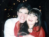 Allan with Judith Durham from the Seekers New Years Eve - click to see an enlarged version of this image