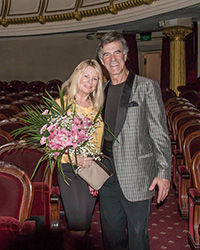 Allan & Christine Zavod at  Vietnamese National Symphony Orchestra, Hanoi Vietnam at the Ha Noi Opera House - 2015 - click to see an enlarged version of this image