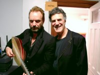 Allan Zavod and Sting on 'Songs From The Labyrinth' 2008 Australian Tour