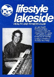 Allan Zavod used on an health & fitness ad at Lifestyle Lakeside: 1984