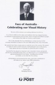 Allan Zavod performed for the Australia Post 'Face of Australia' presentation at the Westin Sydney Ballroom