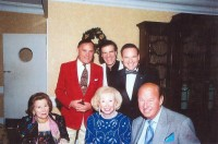Dr. Allan Zavod with patrons of the Palm Beach Symphony at the Colony Pavilion - click to see an enlarged version of this image