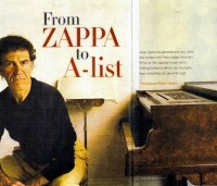 Allan Zavod - From Zappa to A-list - 2002 Magazine article - click to see an enlarged version of this image