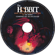 Music from the stage production of The Hobbit - All original music composed by Allan Zavod, with lyrics by J.R.R. Tokien.  Click to see enlarged image.