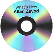 What's New: Allan performing some of his original compositions, along with favorites like 'Blue in Green', and the Title Song 'What's New'.  Click to see enlarged image.